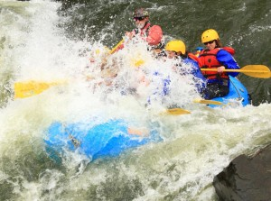Advanced Express  Raft Trip on Clear Creek