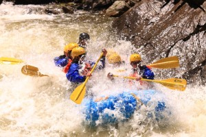Advanced Full Day Raft Trip on Clear Creek