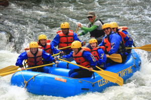 Beginner Raft Trip on Clear Creek
