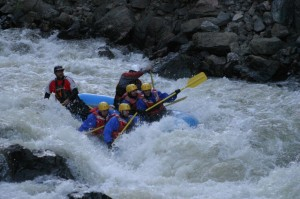 Class V Expert  Raft Trip on Clear Creek