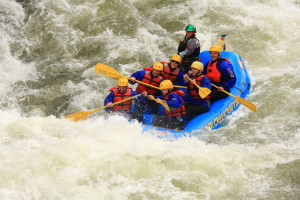Intermediate  Raft Trip on Clear Creek